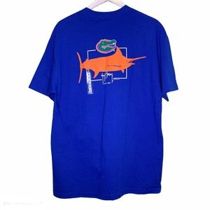 GUY HARVEY T-Shirt Size L New Florida Gators Crew